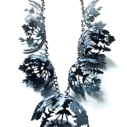 chicory stiff gentian necklace