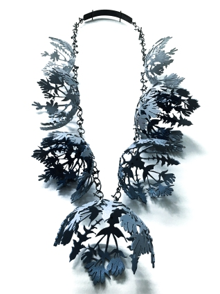 chicory stiff gentian necklace