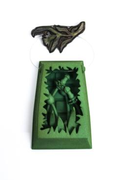 3d-printed-brooch-green